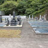 大津共同墓地お盆前清掃
